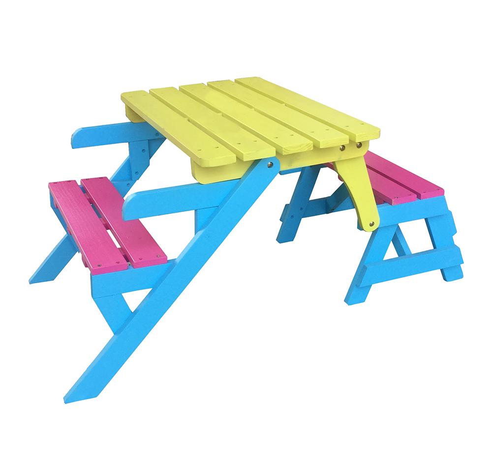 Children's 2-in-1 picnic table